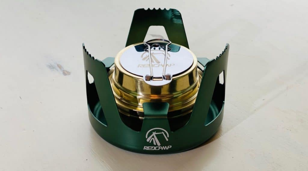 Center Flame Alcohol Stove