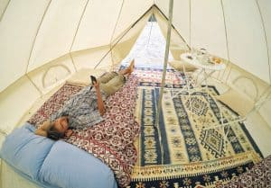 Clean Tent